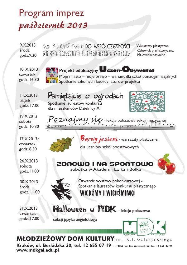 13-14-program-imprez-mdk-pazdziernik-beskidzka