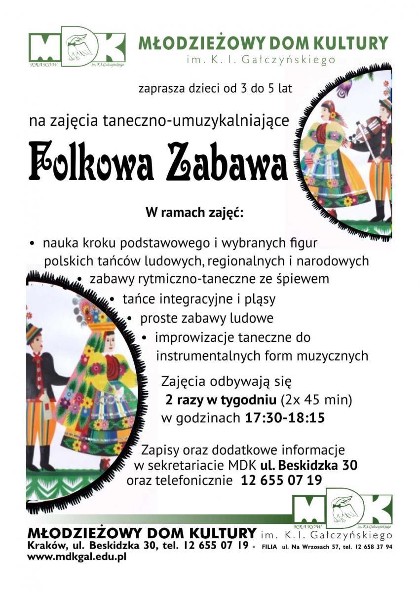 Folkowe zabawy