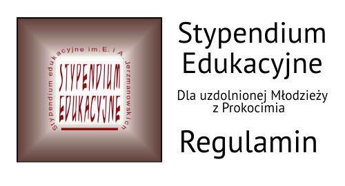 Stypendium Edukacyjne im. E i A. Jerzmanowskich 2019 – regulamin
