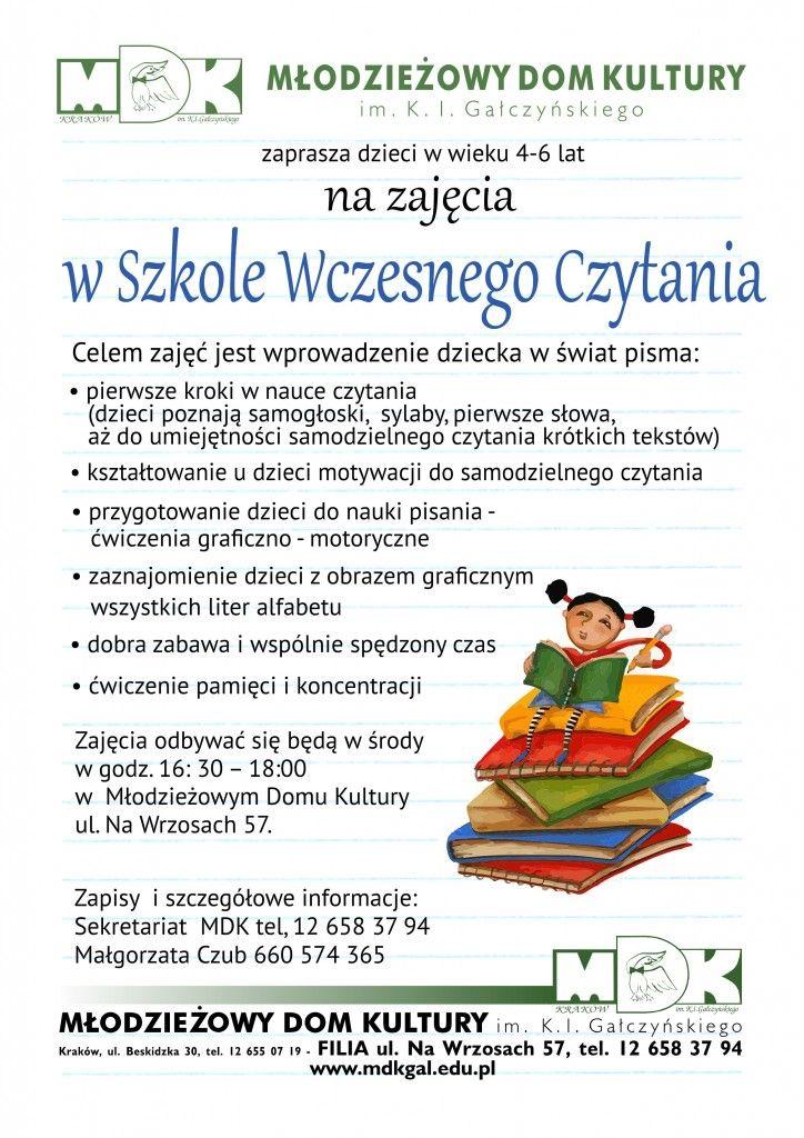 Szkola wczesnego czytania