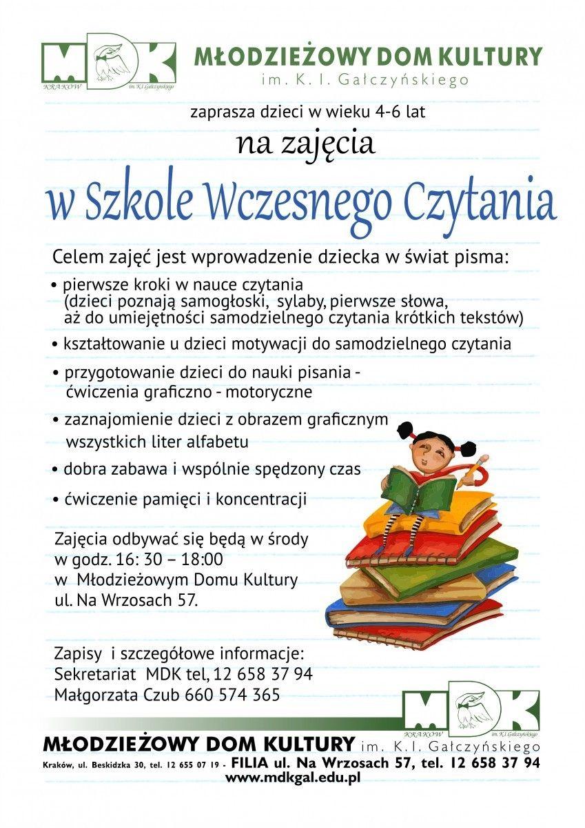 Szkoła wczesnego czytania