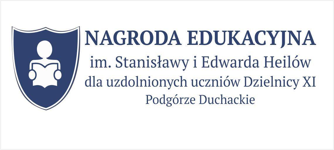 NAGRODA EDUKACYJNA im. Stanisławy i Edwarda Heilów dla uzdolnionych uczniów Dzielnicy XI