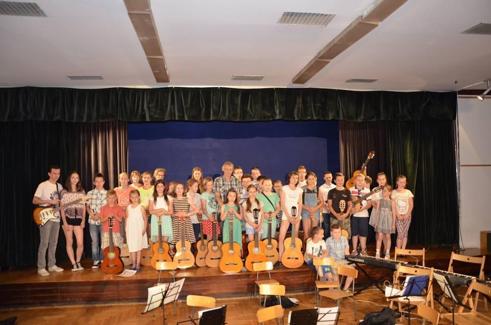 Sekcja muzyczna SKM - zajęcia muzyczne
