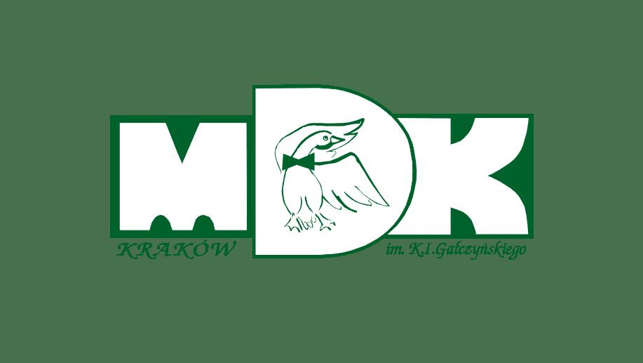 Logo Młodzieżowego Domu Kultury im. K.I.Gałczyńskiego ul Beskidzka 30 Kraków