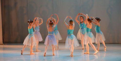 Pierwsze zajęcia Zespołu Baletowego Piruet w nowym roku szkolnym