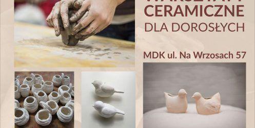 Zapraszamy na zajęcia ceramiczne