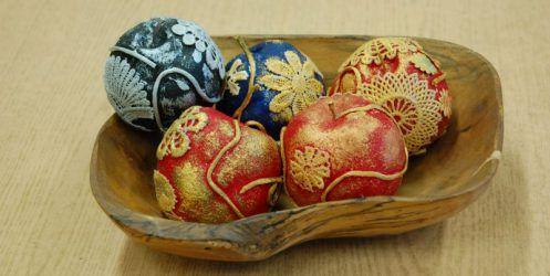 Galeria prac plastycznych sekcji Art‐Styl – dekoracyjne jabłka