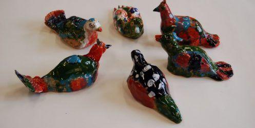 Galeria prac plastycznych sekcji Art‐Styl — ceramika 2018/2019