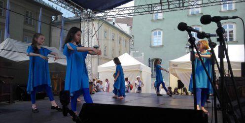 Występ na Małym Rynku