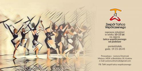 TaW – Zespół tańca współczesnego zaprasza