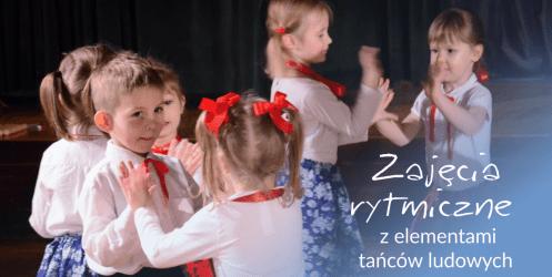 Zajęcia rytmiczne z elementami tańca ludowego – beskidzka