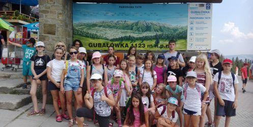 Warsztaty taneczne i językowe w Murzasichlu