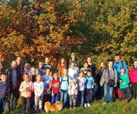 Jesienny spacer w parku Drwinki