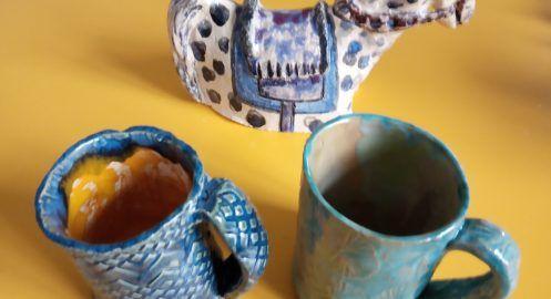 Warsztaty ceramiczne – galeria prac