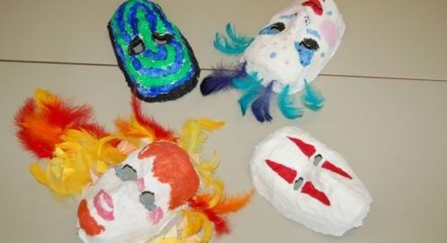 Maski gipsowe