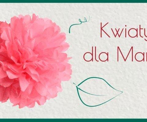 Kwiaty z serwetek – prezent na Dzień Matki