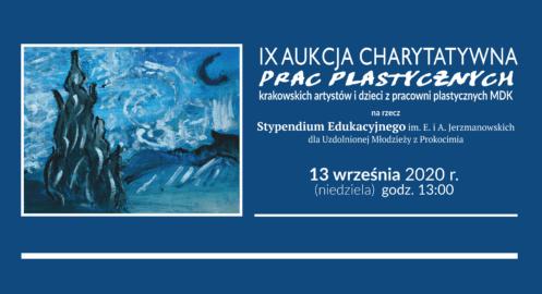 IX Aukcja Charytatywna Prac Plastycznych