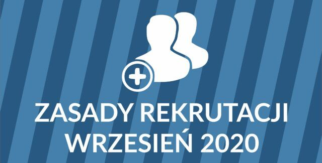 Rekrutacja po 1 września 2020