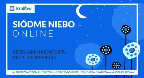 Siódme niebo 2021 – konkurs recytatorski online