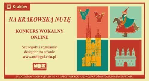 Na krakowską nutę – konkurs wokalny