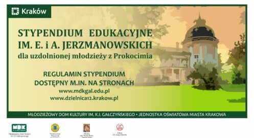 Stypendium Edukacyjne im. E. i A. Jerzmanowskich 2021