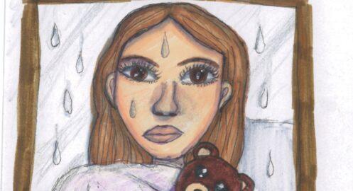 Odnalezieni w deszczu – projekt literacko – plastyczny