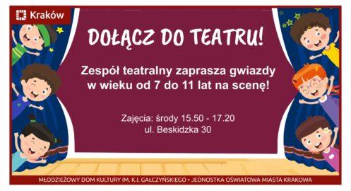 Dołącz do teatru!