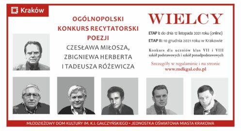 WIELCY – Ogólnopolski konkurs recytatorski