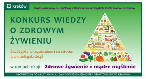 Konkurs Wiedzy o Zdrowym Żywieniu